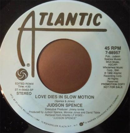 love dies in slow motion