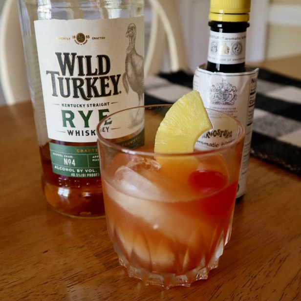 Pineapple Old Fashioned