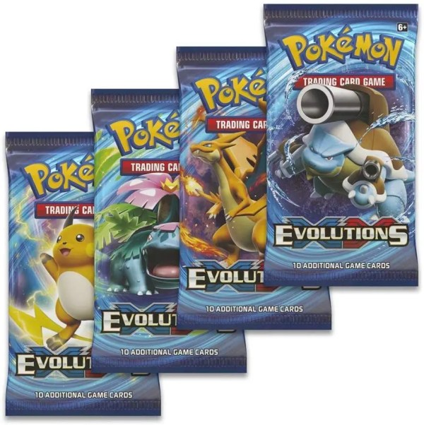 Evolutions Booster Pack