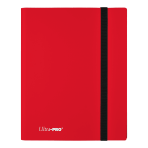 ULTRA PRO 9 Pocket Folder Red 360