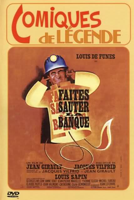 Faites Sauter La Banque ! : faites, sauter, banque, Faites, Sauter, Banque!, Let's, (1964), Girault,, Louis, Funès,, Yvonne, Clech,, Jean-Pierre, Marielle,, Comedy,, Crime, RareFilm