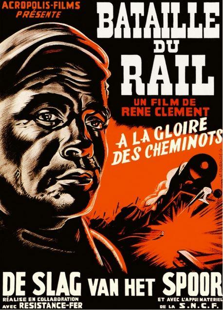 Film La Bataille Du Rail : bataille, RAREFILMSANDMORE.COM., BATAILLE, (1946), Switchable, English, Spanish, Subtitles