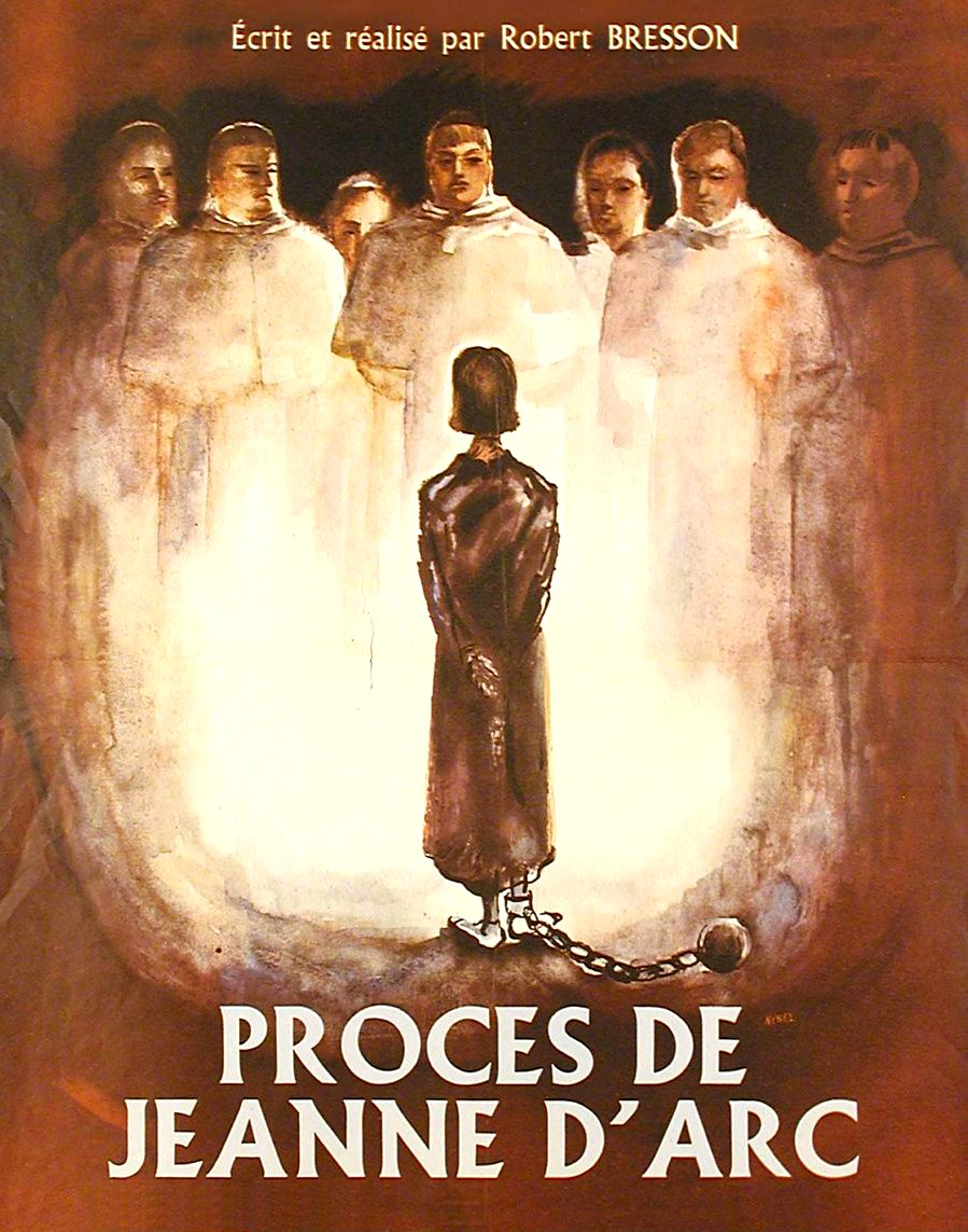 Le Procès De Jeanne D Arc : procès, jeanne, RAREFILMSANDMORE.COM., PROCES, JEANNE, D'ARC, (1962), Hard-encoded, German, Switchable, English, Subtitles