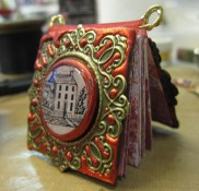 Miniature books with Friendly Plastic