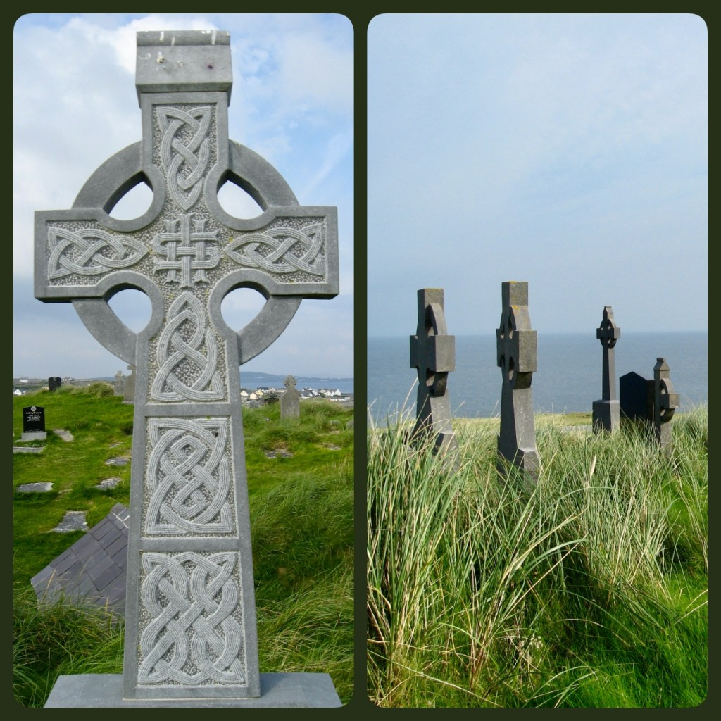 Ireland Inisheer celtic crosses