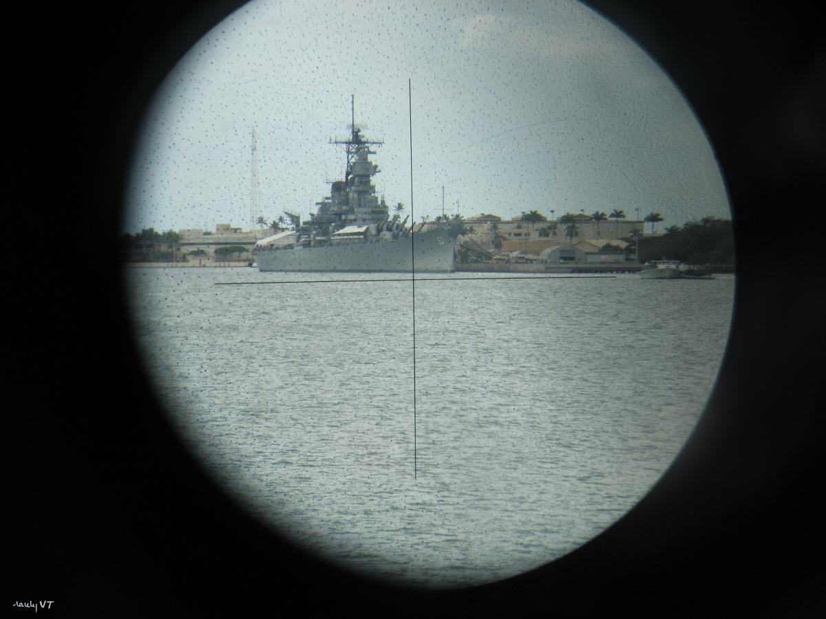 USS Bowfin Scope