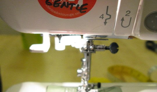 A sewing machine at The Make Lounge