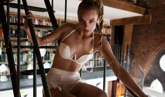 Lingerie by Amelia Firth-Waugh, graduate of LCF's BA (Hons) Fashion Contour