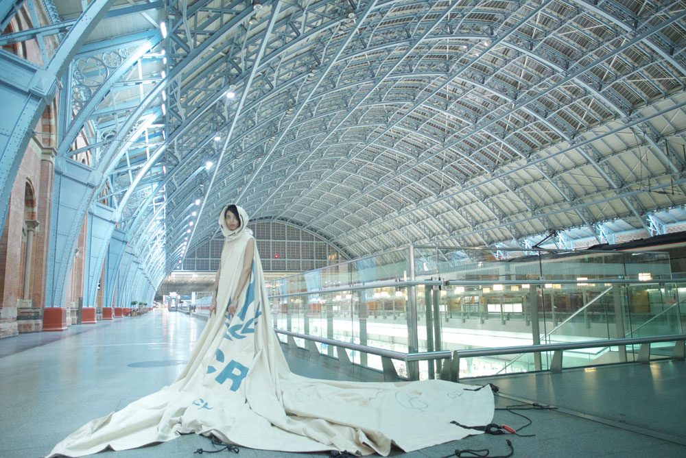 Dress For Our Time at St Pancras International