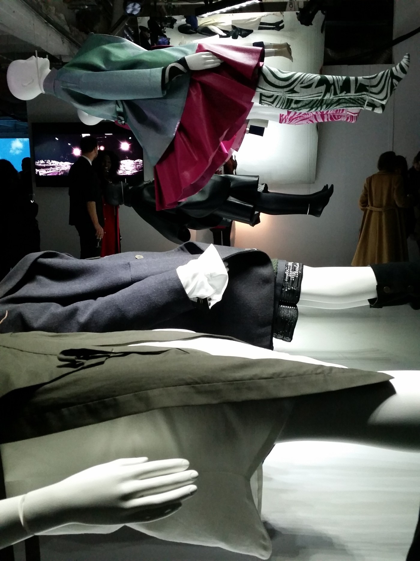 Photo taken at the private view of LCF's MA16 Exhibition
