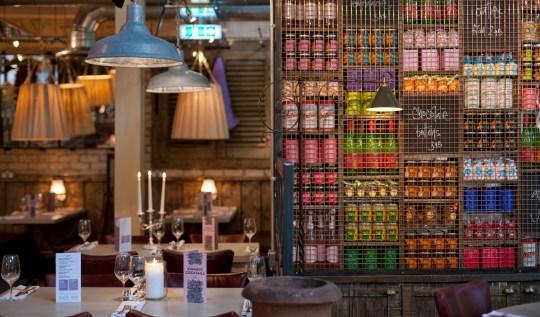 Bill's restaurant in Greenwich, London