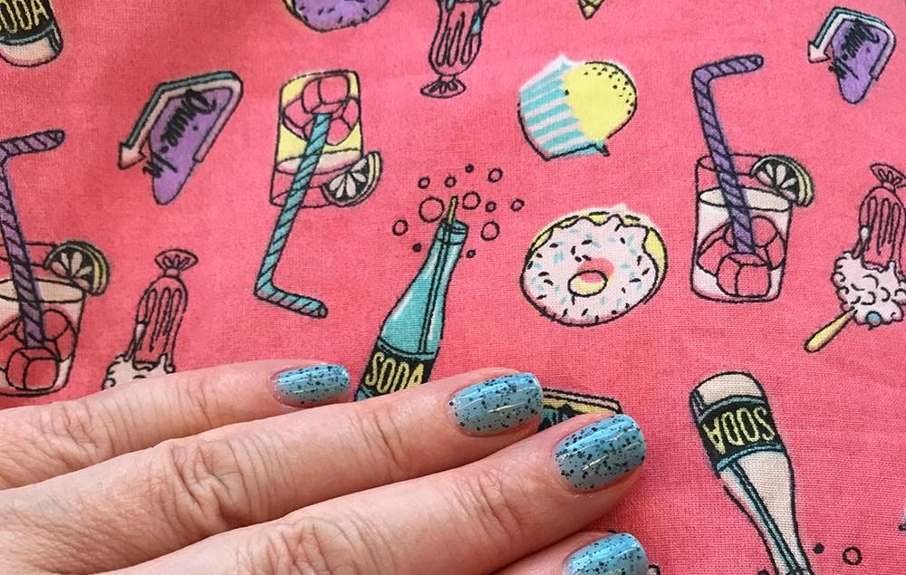 Print detail from a Love Ur Look dress