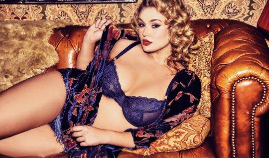 Playful Promises 'Sadie' curve bra