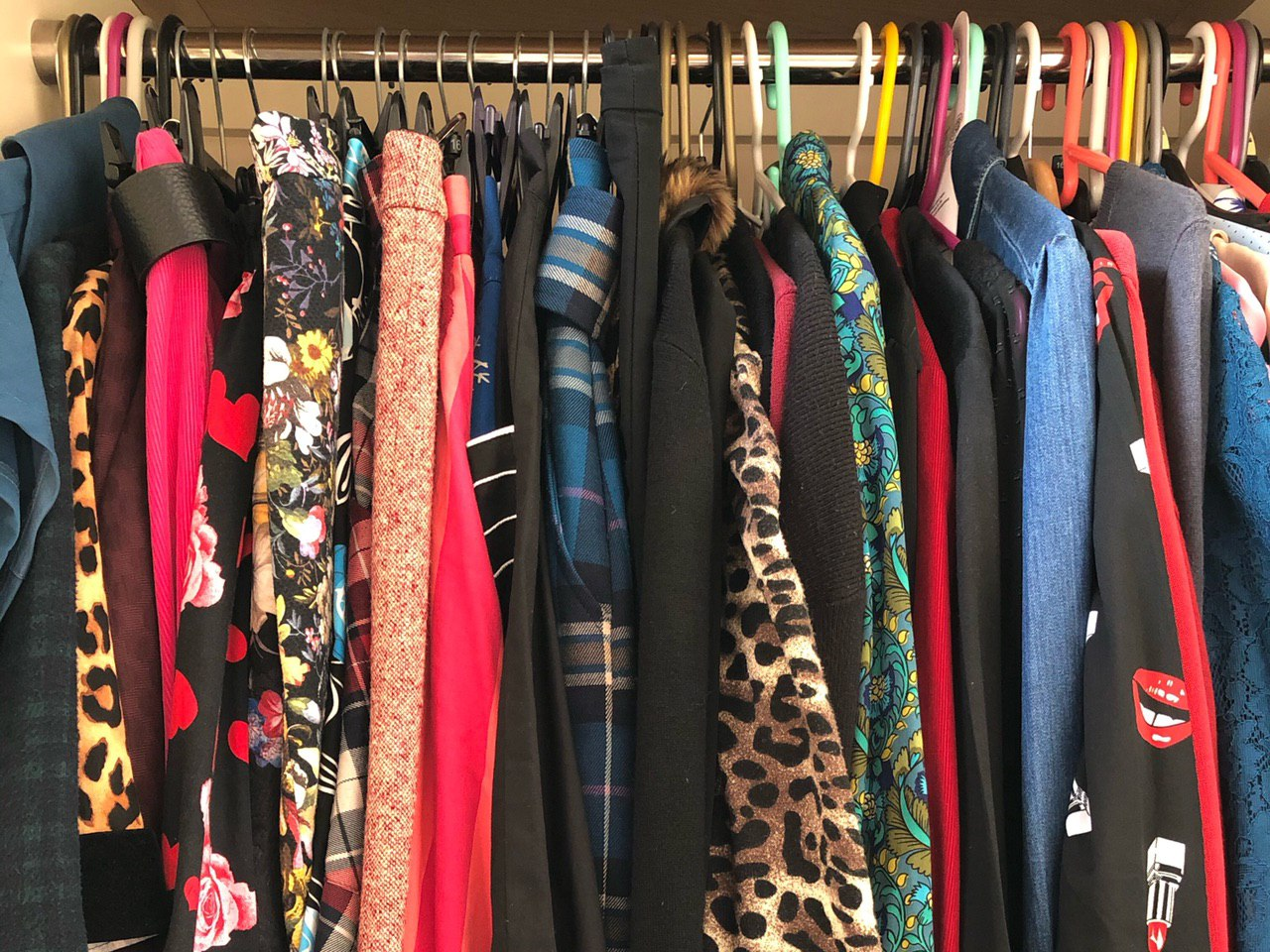 Lori's wardrobe, April 2020
