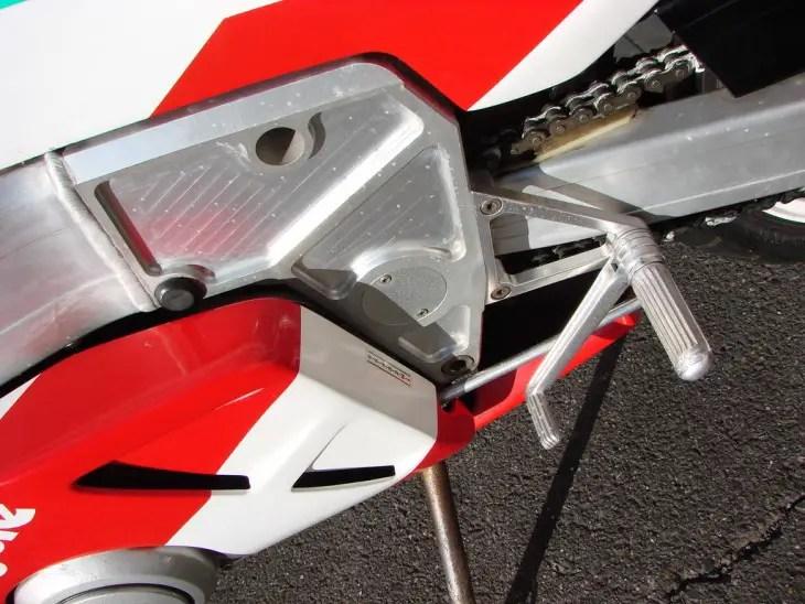 1988 Bimota YB7 L Peg Detail