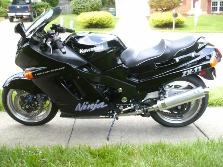 1992 Kawasaki ZX-11 L Side
