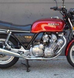 in 1978 honda stunned the motorcycling world with a technological tour de force the six cylinder 24 valve cbx was the most ambitious and the most  [ 1920 x 1080 Pixel ]