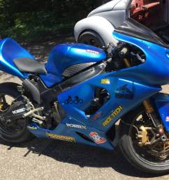 2005 kawasaki zx636r track race bike for sale with all the extras awesome track bike there are no issues with the bike  [ 1200 x 900 Pixel ]