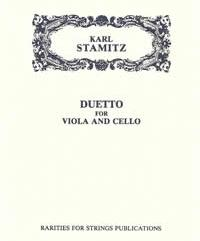 Stamitz, KarlDuetto in C for Viola & Cello