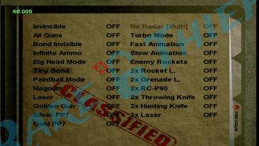 GoldenEye 007 XBLA Cheet Codes