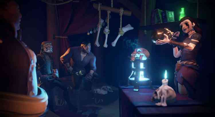Sea of Thieves Rare Thief Cursed Rogue Guide
