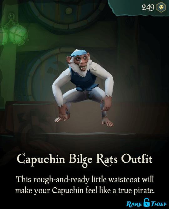 Capuchin Bilge Rats Outfit