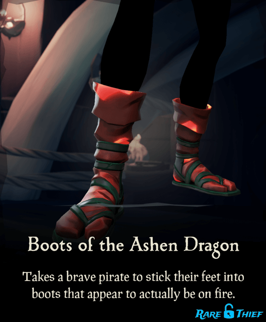 Boots of the Ashen Dragon