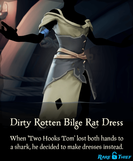 Dirty Rotten Bilge Rat Dress