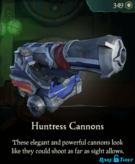 Huntress Cannons