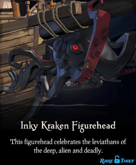 Inky Kraken Figurehead