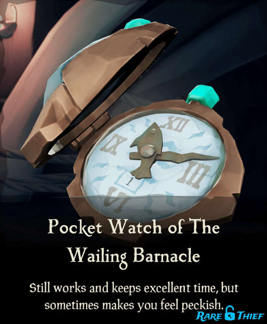 Pocket Watch of the Wailing Barnacle