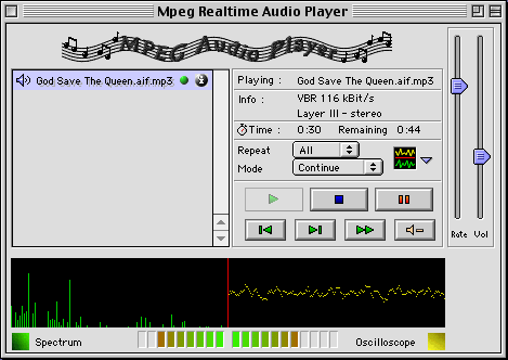 ReallyRareWares - MPEG Audio Encoder