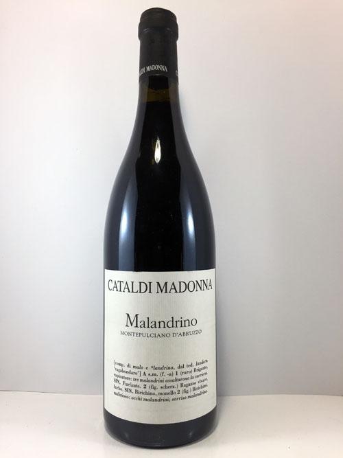 Cataldi Madonna Montepulciano d'Abruzzo Malandrino Rosso DOC