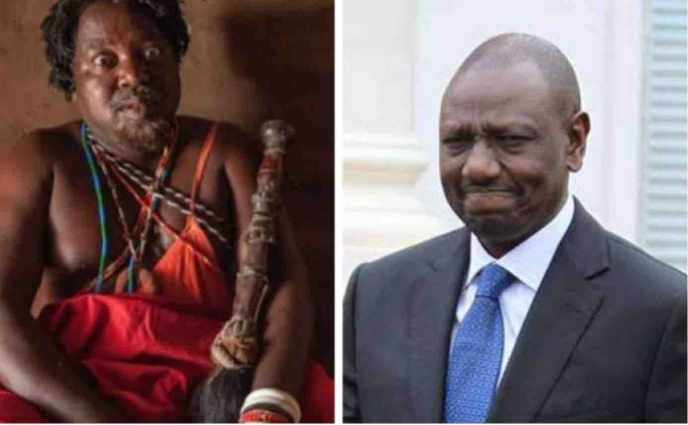 Tanzania Witch Doctor alleged to be tasked by Raila to ensure Ruto dies