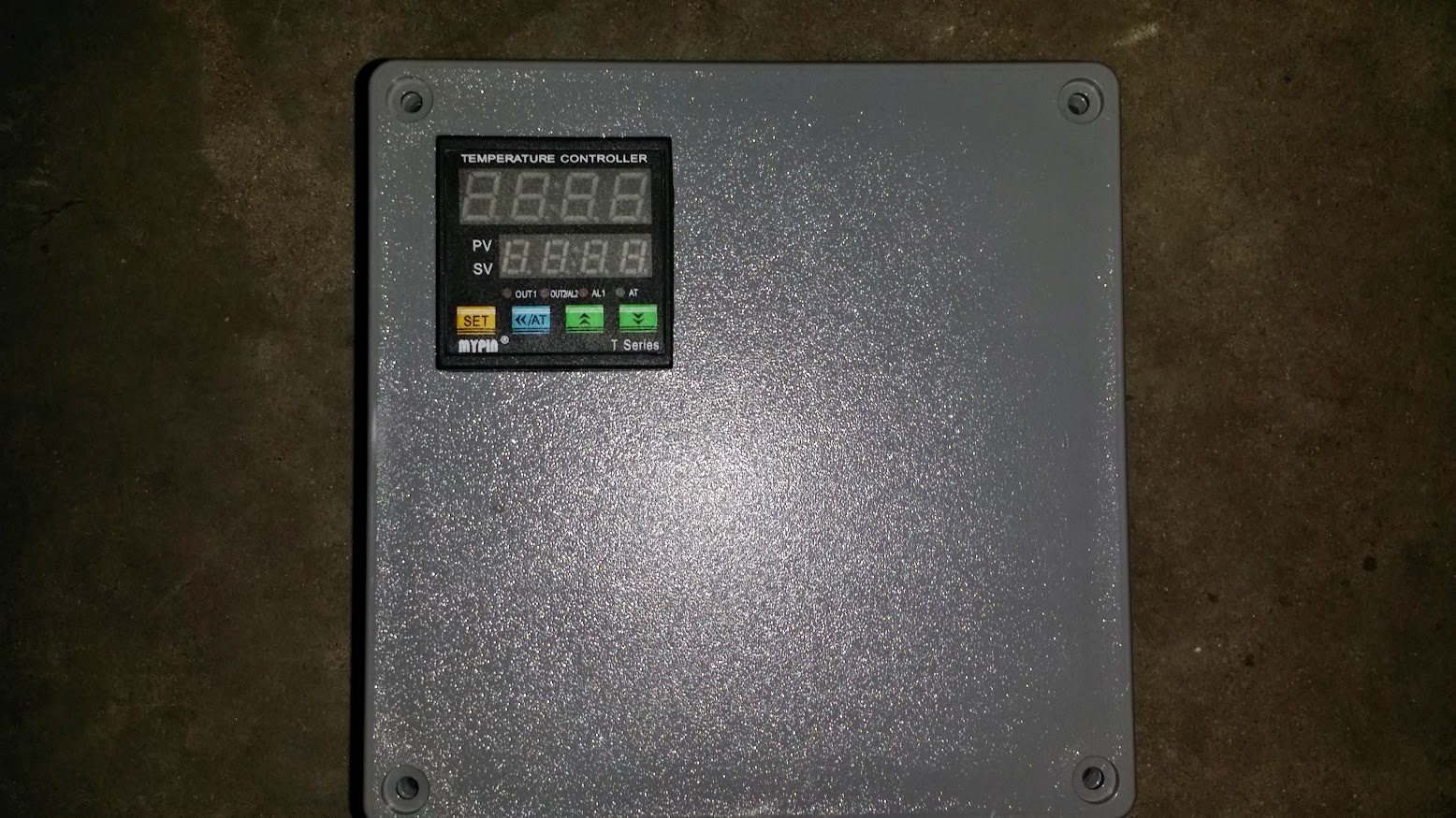 hight resolution of mlt thermometer pid controller