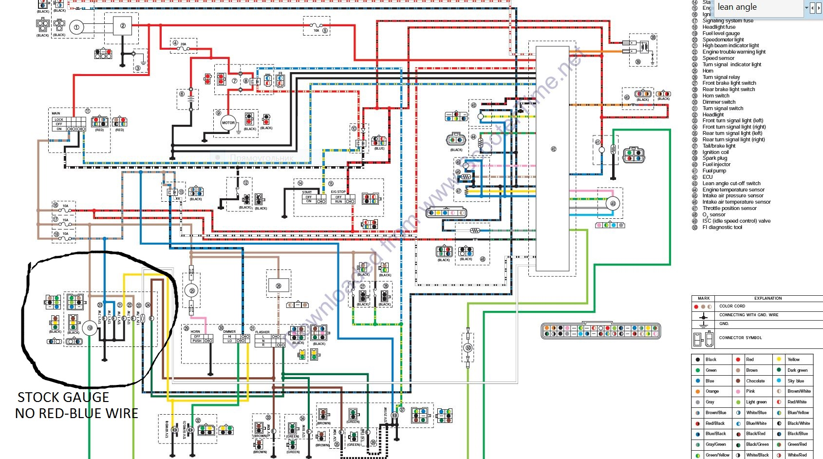 Wiring Yamaha X Vq30de Harness Diagram Schematic 2008 R1 Hight Resolution Of Zuma For You Vino