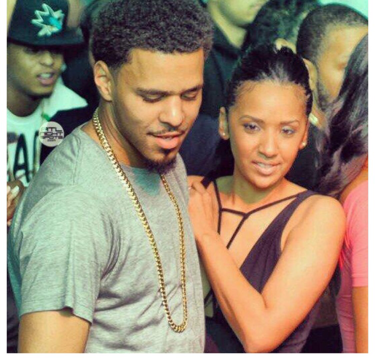 J Cole And His Wife J.Cole Allegedl...