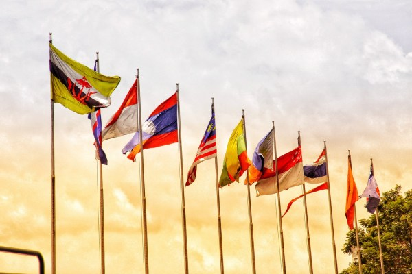 Flags ASEAN