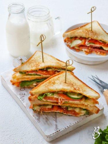 sandwich homemade mudah