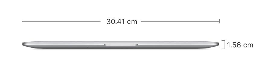 MacBookAir サイズ