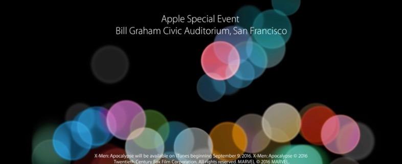 2016年9月7日 Apple Special Event