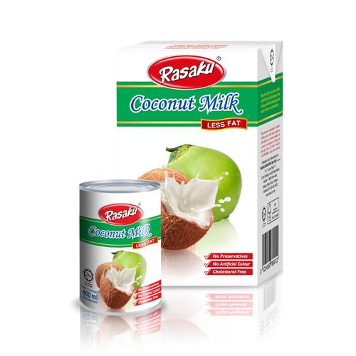 Rasaku Coconut Milk Less Fat