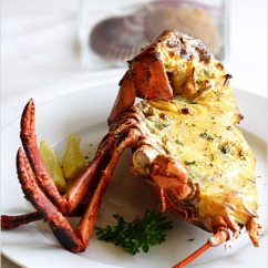 The Chairman Iron Chef Gym Office Chair Baked Lobster With Cheese | Easy Delicious Recipes