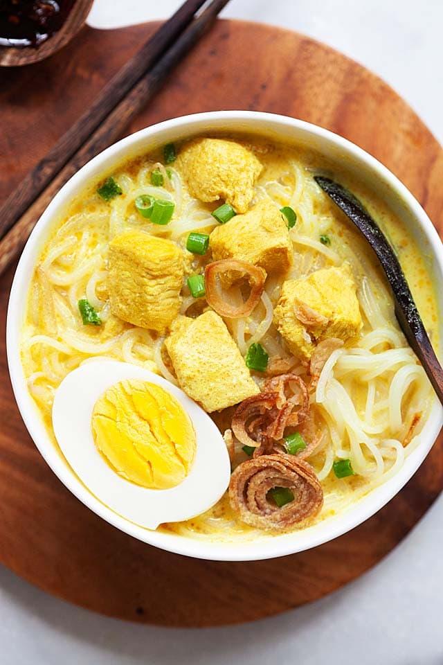 Soto Ayam Hd : Malaysian-Indonesian, Chicken, Malaysia