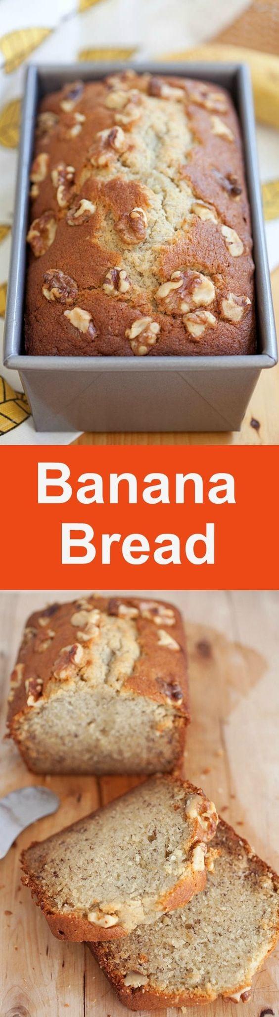 Resep Banana Cake Breadtalk : resep, banana, breadtalk, Banana, Bread, Malaysia
