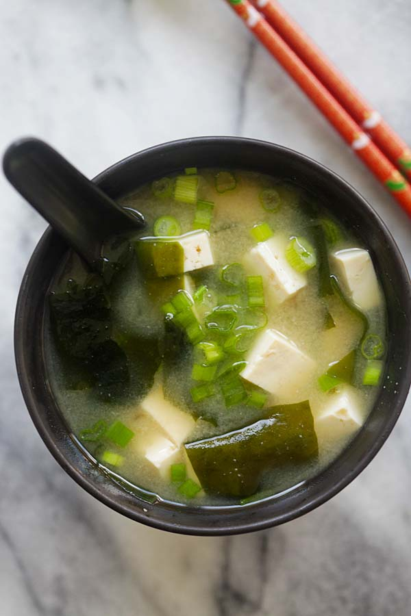 Miso Soup Recipe  Easy Delicious Recipes