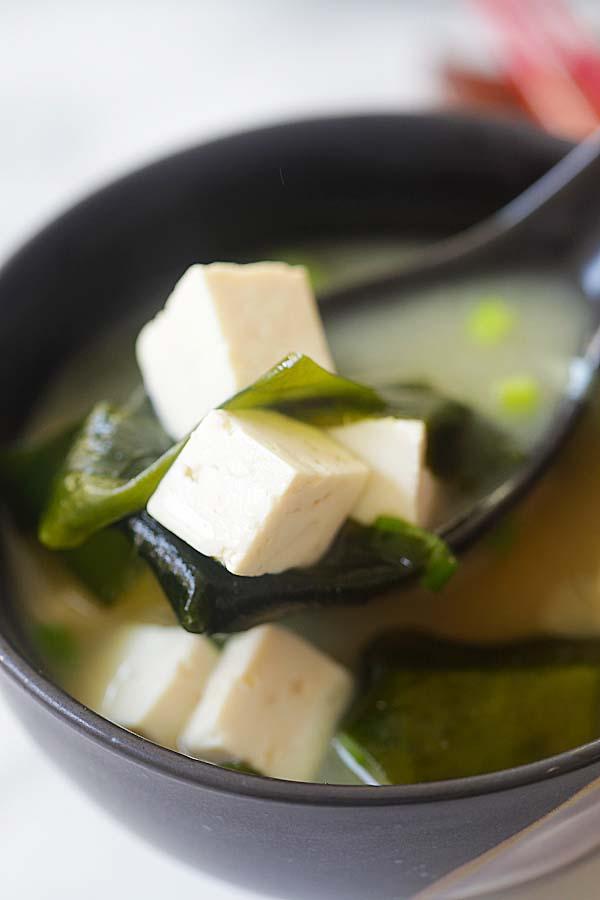 Easy Miso Soup  Easy Delicious Recipes