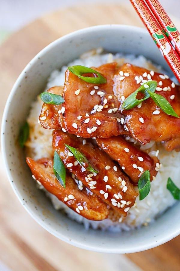 Cara Membuat Resepi ayam teriyaki diet ~ Arisa