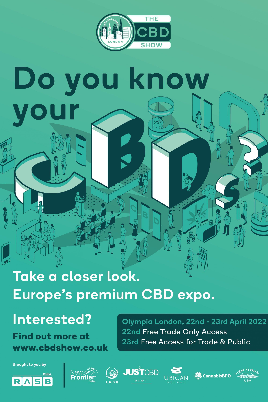 CBD Show poster