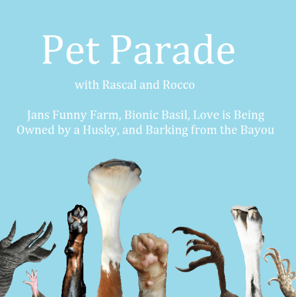 Pet Parade blog hop linky party for all pets and animals. Where Pet Bloggers network, share, and have fun!